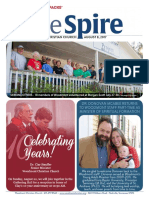 The Spire Newsletter, August 8, 2017