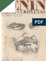 Obras Completas. Tomo 31 - Lenin