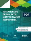 Initiatives de design actif montréalaises inspirantes