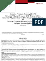 Symantec System Recovery 2013 R2