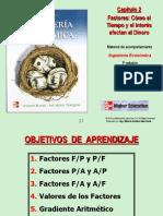 Capitulo 2 - Factores Tiempo e Interes