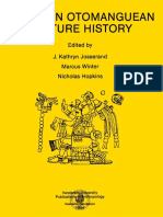 J. Kathryn Josserand, Marcus Winter, Nicholas Hopkins. ESSAYS IN OTOMANGUEAN CULTURE HISTORY