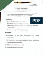 Shankar IAS - Essay Test