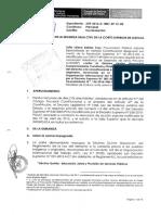 Contestación de la demanda por parte de la Procuraduría Pública Especializada en Materia Constitucional.