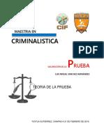 Prueba en el nnuevo sistema de Justicia Penal