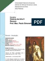 04 Und III - Escolas Pós-renascentista - Rococó