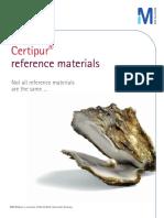 Certipur Materiales Referencia Merck