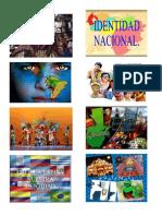 Identidad Nacional 15 Imagenes Pendiente de Entrega