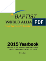 2015 BWA Yearbook