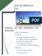 Manifiesto de Impacto Ambiental - Tendido Electrico de 5 Km