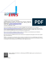 Article - Future of Statistics - 2004