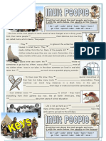 Inuit People Used to Grammar Drills Information Gap Activities Tests 85674
