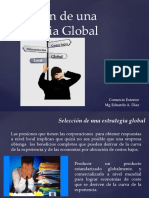Selección de Una Estrategia Global