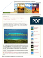Backpacking Pilipinas_ Summer 2014 Travel Guide_ 16 Best Unspoiled Philippine Beach Destinations.pdf