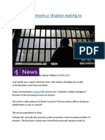 Are Britain's prisons a 'disaster waiting to happen'.docx
