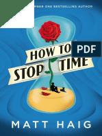 How to Stop Time by Matt Haig Chapter Sampler