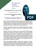 Charles Spurgeon _ Solamente Por Gracia _ Sermón 3479 Del 7 de Octubre de 1915 _ Tabernáculo Metropolitano