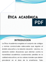 Etica Academica Blue