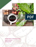 Manual de seguridad para industria del cafe soluble