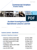 Accidents Lessons Learned