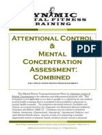 Attention and Focus Combined Assessment 10-18-16 - Unofficial