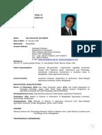 CV of Dr. Solaiman