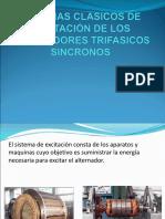 Sistemas Clasicos de Excitacion de Los Generadores Trifasicos Sincronos