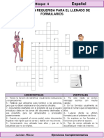 4to Grado - Español - Los Formularios