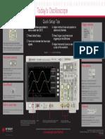 KeySight - Oscilloscope Quick Setup Tips Poster