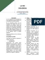 La No Violencia