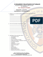 evaluacion de SCI