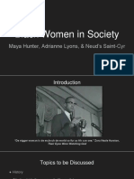 Black Women in Society