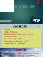 Tsunami Warning Seminar Ppt