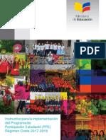 Instructivo Para La Implementacion Del PPE Regimen Costa 2017 2018