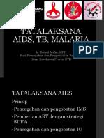 TATALAKSANA AIDS, TB, MALARIA.pptx