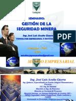 Seminario Gestion de La Seguridad Minera AQP Mayo 2013-1