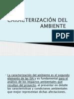 3.Caracterización Del Ambiente