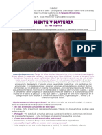 Joe Dispenza Y Tú Que Sabes - Mente Y Materia