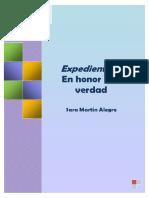 Sara Martín Alegre Expediente X en Honor a La Verdad