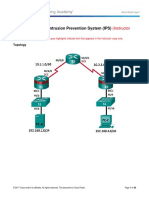 5.4.1.1 Lab - Configure an Intrusion Prevention System (IPS)_Instructor