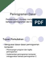 Program Dasar