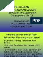 38485403-PENDIDIKAN-LESTARI