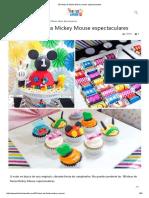 50 Ideas de Fiesta Mickey Mouse Espectaculares