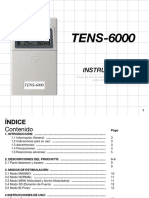 Manual Tens 6000 Español