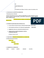 Derecho Procesal Civil y Meercantil Cuestionario 1
