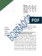 Proyecto de Ley Interpretativa
