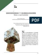 Universidad y Globalización. Retos y Oportunidades