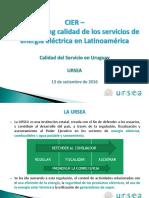 Presentación Calidad Del Servicio Uruguay