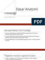 Konsep Dasar Anatomi Fisiologi
