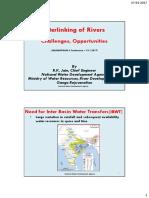 River Linking Challenges Opportunities Way Forward R K Jain